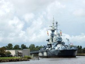The U.S.S North Carolina. File photo.