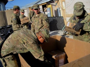 Previous Packages from Home received by soldiers in Afghanistan. Port City Daily file photo.