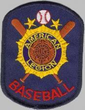 American Legion Baseball patch.