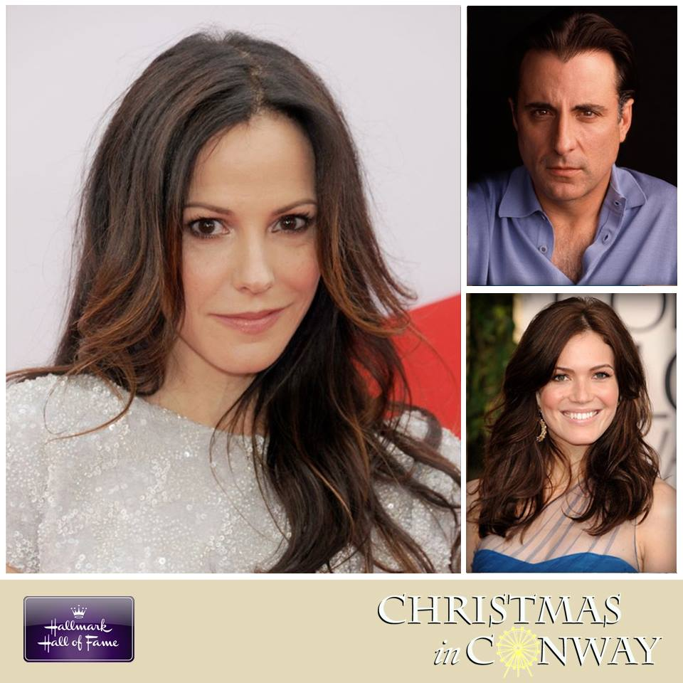 Christmas In Conway.Andy Garcia Mandy Moore Join Cast Of Locally Filmed