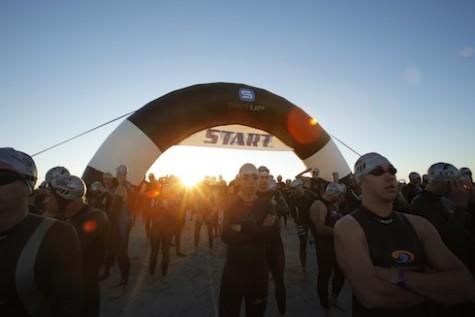 The Beach2Battleship Triathlon. Photo by: Joshua Curry