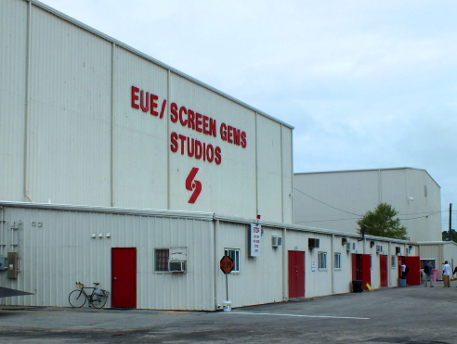 Production crews for the TNT pilot, 'Good Behavior,' set up offices at EUE/Screen Gems Studios this week, ahead of the state lawmakers' $30 million compromise on film funding. File photo.