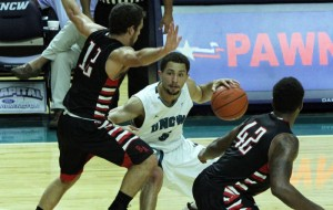 Cedrick Williams powered UNCW as the Seahawks set an exhibition record for victory margin in a 101-51 rout of Belmont Abbey.