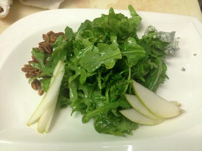 Caprice Arugula salad