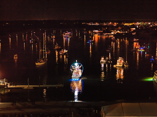 The annual Wrightsville Beach flotilla and fireworks display is set for this Saturday. Photo courtesy ncflotilla.org.