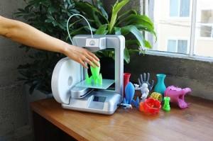 Cube-brand home 3D printer. Image courtesy Cubify.com.
