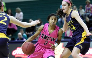 Kelva Atkins put in 14 points to pace the Lady Seahawks on Sunday.