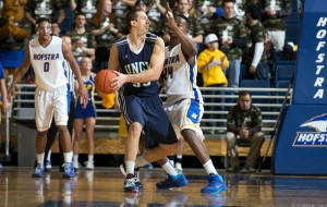 UNCW blew a double-digit halftime lead on Saturday.