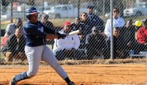 Jo'Landa White has five home runs on the season. Photo courtesy- Saint Augustine's Athletics