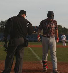 Shane Shepard crosses the plate after a home run this season. Photo courtesy- Lee Wagner.