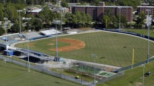Brooks Field on the campus of UNCW will play host to this year's CAA Championship. Photo courtesy- CAA Sports