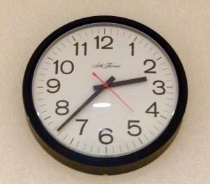 Set clocks back one hour Sunday. Photo by Christina Haley.