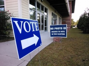 The percentage of New Hanover County voters who cast ballots was lower than the statewide average. Photo by Jonathan Spiers.