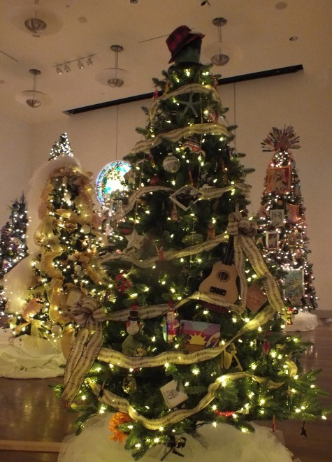 Cape Fear Festival of Trees features dozens of beautifully decorated Christmas trees. Staff photo.