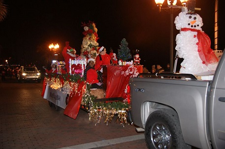 Wilmington's annual holiday parade will be held on Front and Water streets this Sunday. Photo courtesy City of Wilmington.