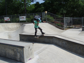 Wilmington's Wilmington's Greenfield Grind Skatepark is one of two existing skate parks in New Hanover County. The county is planning to build its own skate park at Ogden Park this year. Photo courtesy City of Wilmington.