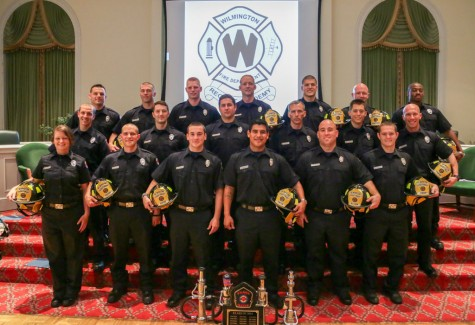 The Wilmington Fire Department has inducted 19 new members. Photo courtesy of the City of Wilmington.