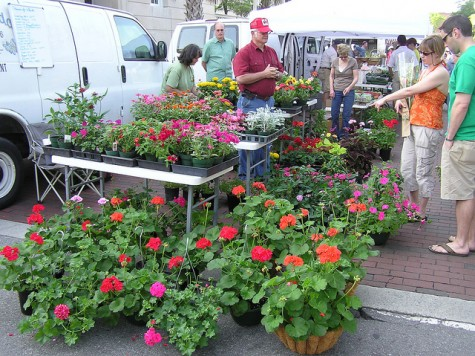 Featuring a host of locally grown and handmade products, the Riverfront Farmers Market will run April 4 through Nov. 21. Photo courtesy Wilmington Downtown Inc.