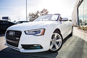 Lower Cape Fear Hospice Foundation is raffling a 2015 Audi A5 Cabriolet 2.0T Quattro Tiptronic convertible. Photo courtesy Lower Cape Fear Hospice Foundation.