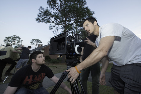UNCW's film studies department will expand to include a graduate degree program in filmmaking. Photo courtesy UNCW/Jeff Janowski.
