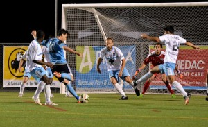 Wilmington dropped to 1-3-2- on the year with Saturday's setback. Photo courtesy- Wilmington Hammerheads FC