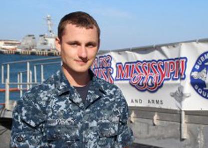 Steven Pack. Photo courtesy U.S. Navy public affairs.