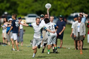 UNCW's ultimate club team heads to national on Saturday. Photos courtesy- UNCW Seamen