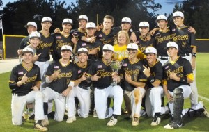 The Topsail baseball team finished the year as the Mideastern Conference regular season and tournament champions. Photos by Joe Catenacci