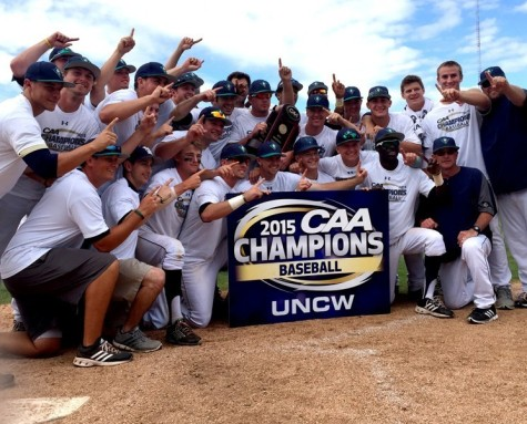 UNCW is scheduled to host the 2107 CAA Baseball Championships. Photo courtesy- UNCW sports