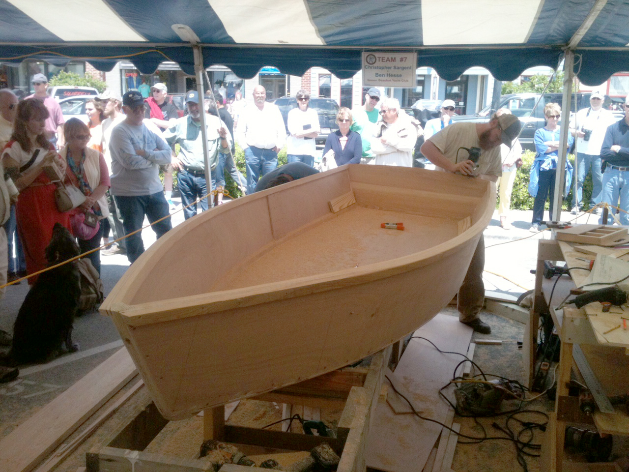Cfcc Team Takes Top Awards In Boat Building Challenge Port City Daily