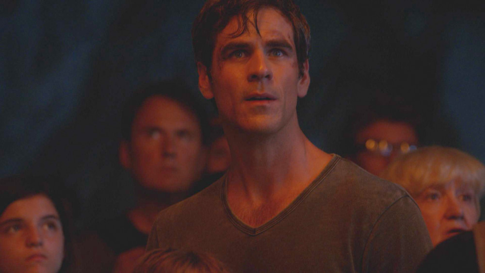Actor Eddie Cahill, who plays Sam in 'Under the Dome.'