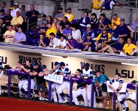 UNCW played in front of a packed house against LSU. Photo courtesy- UNCW sports