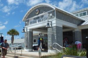 Kure Beach Ocean Front Park Pavilion. Photo by Hannah Leyva.