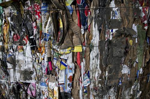 Bailed Recycling from New Hanover County Landfill. Photo Courtesy of New Hanover County