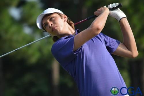 Blake Taylor. Photo courtesy- Carolinas Golf Association.