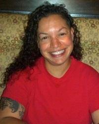 Tania Nichole Dunbar died at Freeman Park on Sunday. Photo courtesy Sparta--An LGBT Military Organization.