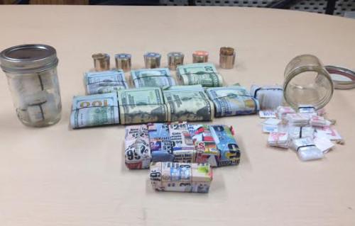 Drug agents seized nearly