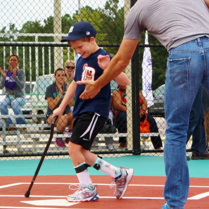 Miracle League of Wilmington, whose handicap accessible field opened to players of all ages in 2013, has a launched a fundraiser to continue to support its mission. Photos courtesy Miracle League.