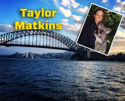 Taylor Matkins. Photo courtesy- UNCW sports