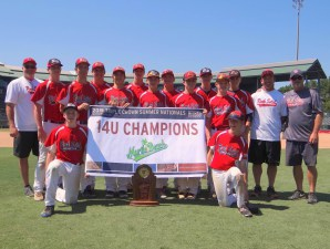 Rock Solid Red took home the 14U title in Myrtle Beach. Photo courtesy- Rock Solid