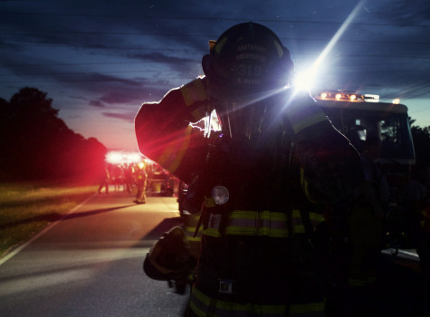 South Port Fire Fighter