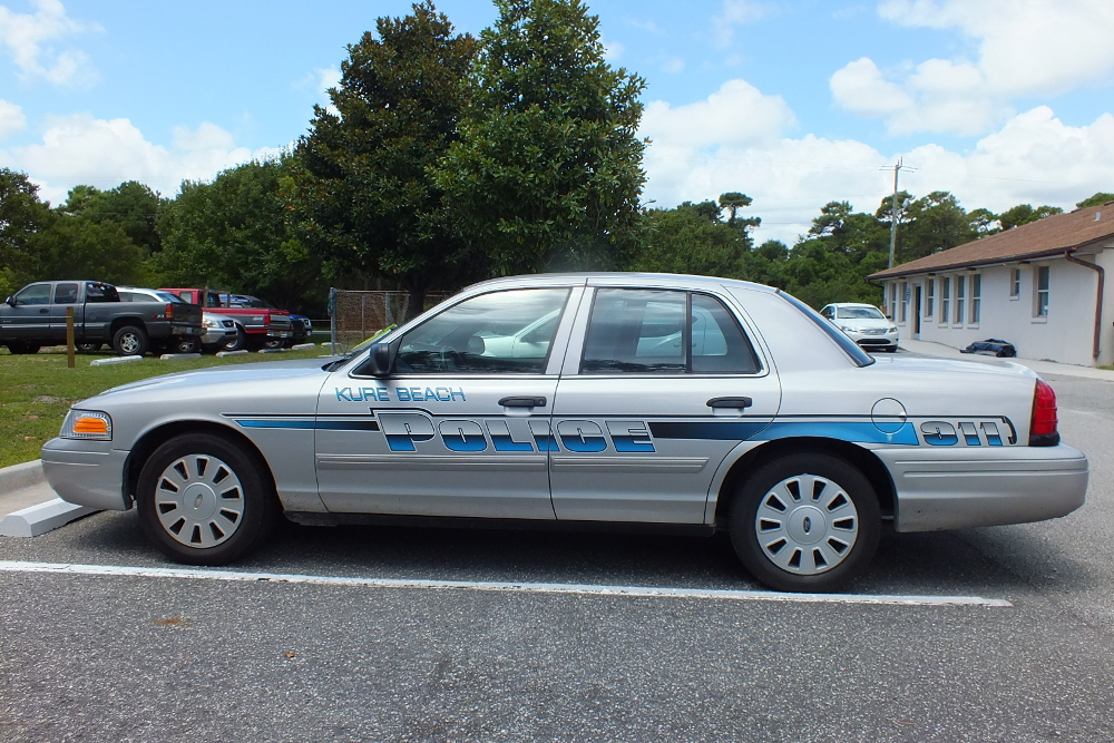 Kure Beach selling old police car | Port City Daily