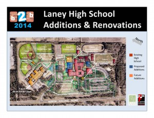 Laney High will also get a new 1,600-seat gym, along with a new library.