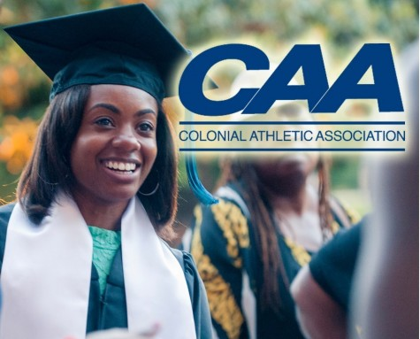 A total of 226 student-athletes at UNCW received the prestigious CAA Commissioner's Award for academic excellence during the 2014-15 year. Photo courtesy- UNCW sports