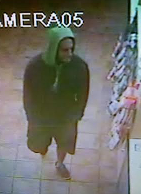 Police suspect the man in this photo robbed two businesses at knifepoint. Photo courtesy of WPD.