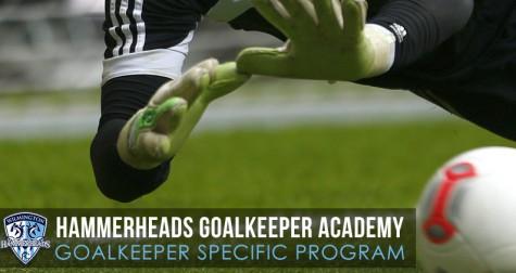 Wilmington Hammerheads FC announced a new goalkeeper academy program on Wednesday. Photo courtesy Wilmington Hammerheads FC
