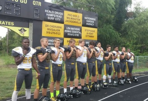 Topsail has a core group of seniors ready to make an impact this season. Photo courtesy- Friends of Topsail Football