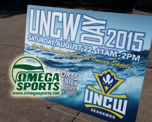 UNCW day will be held at Omega Sports in Hanover Center. Photo courtesy UNCW sports