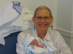 Pat Delair and grandson, Noah