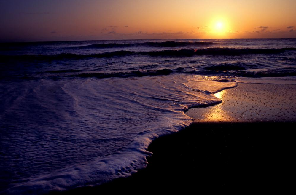 Atlantic sunrise at Carolina Beach